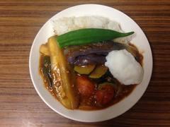 *色鮮やか夏野菜カレーの画像